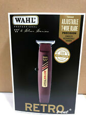 Wahl Professional 5-Star Cordless Retro T-Cut Trimmer #8412, 2-Day Air Shipping