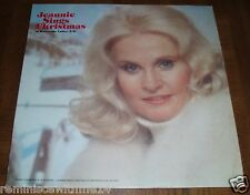 JEANNE SINGS CHRISTMAS AT WATERVILLE VALLEY, NEW HAMPSHIRE LP - SCHOONER LABEL