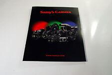 Samy's Fotocamera Equipment Guida 2013 Brochure / Catalogo (En) Lenti Video Luci