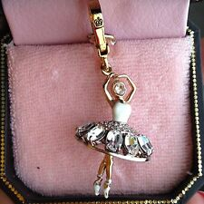 BRAND NEW JUICY COUTURE BALLERINA BRACELET CHARM IN TAGGED BOX