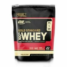 Optimum Nutrition Gold Standard 100% Whey Protein, Vanilla Ice Cream, 1.5 LB