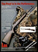 1983 HECKLER & KOCH HK270 Semi-automatic Sporting Rifle AD Gun Advertising