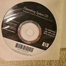 Vintage HP Operating System CD 394378-001 Windows XP Pro SP2 Has Drivers On It