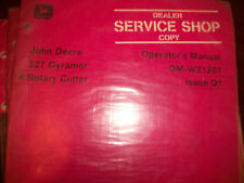 John Deere Tractor Operator'S Manual 307 Gyramor Rotary Cutter Issue E1