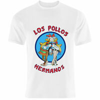 Breaking Bad inspired 'Los Pollos Hermanos' Walter White Heisenberg T-Shirt