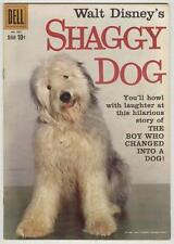 Four Color #985 FN+ 1959 Shaggy Dog photo cover, Annette back cover