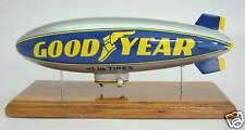 Blimp Goodyear Airship Airplane Desktop Wood Model Big New