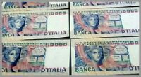 #Banconota 50000 Lire Banca D'italia Volto Di Donna Naturali