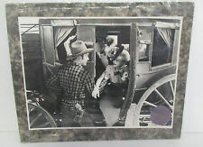 Vintage CENTRA FILM DORDRECHT ROY ROGERS Stagecoach Mounted Photo or Lobby Card