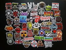 Vintage Heavy Metal slayer, megadeth, exodus,& more Decal Stickers listing 150