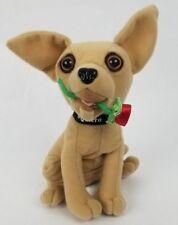 "Taco Bell Chihuahua 7"" Talking Plush Stuffed Animal Dog Rose Applause Yo Quiero"