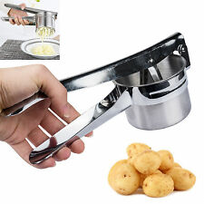 3 Discs Professional Stainless Steel Potato Ricer Handheld Purée Masher Juicer