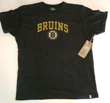 Boston Bruins 47 Brand Officially Licensed Men's T-Shirt NWT Size Large