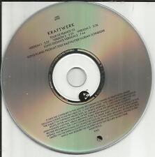 KRAFTWERK Tour De France 03 w/ 4 RARE TRX 2003 Europe Version PROMO DJ CD single