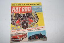 Vintage August 1958 Hot Rod Magazine - Chrysler V8 Engine Cover