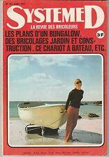 Magazine Système D N°331 août 1973 bricolage