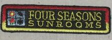 """Four Seasons Sunrooms Patch (iron-on) - 3"""" x 3/4"""""""