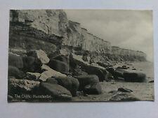 Hunstanton Vintage B&W postcard c1910 The Cliffs