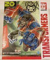 Optimus Primal Figure Beast Wars Transformers Platinum Edition 2015 NIP Prime