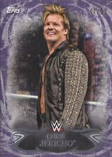 CHRIS JERICHO #41/50 PURPLE PARALLEL 2015 Topps WWE Undisputed Card #35