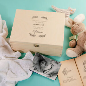 """""""You Are Loved For A Lifetime"""" Keepsake Memory Box - Baby Loss Memorial Gift"""