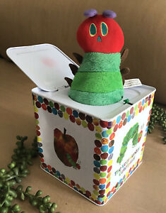 The Very Hungry Caterpillar Jack-in-the-Box Kid/ Baby Toy ~ Eric Carle ~ Dented