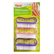 Scrubbing Brush For Hands Nails Feet Foot Cleaning Nylon Soft Bristles Plastic