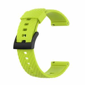 For Suunto 7/9 Baro/D5/Spartan Sport Wrist HR Watch Band Silicone Wrist Straps