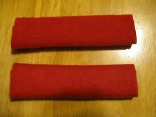 Set of 2 Soft & Secure CPAP Comfort Pads Keeps Mask Straps Away red solid