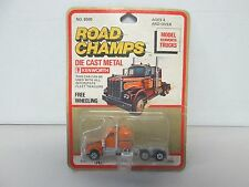 Road Champs Model Kenworth Truck (orange) (1)