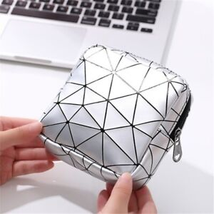 Portable Women Printed Sanitary Napkin Storage Sanitary Pad Pouch Bag Coin Purse