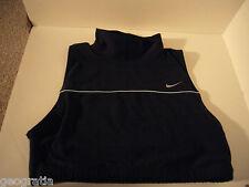 Nike Dri Fit Black Turtle Neck Crop Tank Top Large 12 - 14