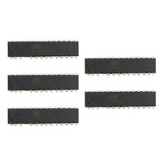 5 Pcs ATMEGA8A-PU ATMEGA8A DIP-28 8-bit In-System Programmable Flash New