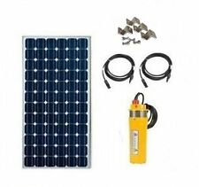 Well Pump - Solar Powered Well Water Pumping Kit - Deep Well Solar System