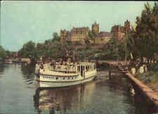 Schiff Fahrgastschiff Personenschiff SAALEFEE auf der Saale bei BERNBURG 1963