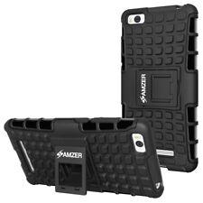 AMZER Hybrid Warrior Case - Black/ Black For Xiaomi Mi 4c