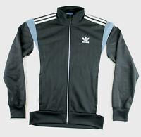 Adidas Originals Jacket Small Men's Track Top Tracksuit Zip Black