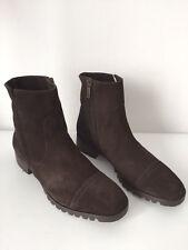 XSA Stivaletti Alla Caviglia Scarpe Vera Pelle di pecora Come Tgl 38,5 (C712)