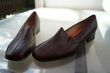 relax ARA flex Damen Schuhe Slipper Pumps Leder braun bequem Gr.6,5 H 1/2 40 NEU