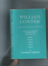 WILLIAM COWPER THE CONTINUING REVALUATION - STUDIES - OLNEY BUCKINGHAMSHIRE