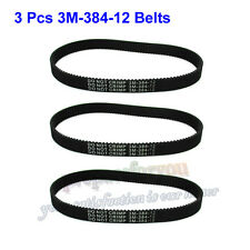 3M-384-12 Transfer Drive Belts For Electric E Scooter Pulse Charger City Skull