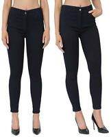 Womens Skinny Jeans Jeggings Trousers Navy & Black  Work Trousers Work Wear