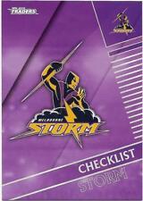 2018 NRL Traders Base Card (061) STORM Checklist