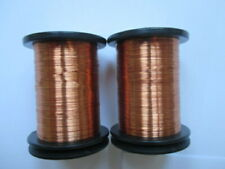 tying wire x 2 spools semperfli copper 0.1mm flytying materials