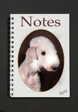 Bedlington Terrier Notebook / Notepad with small image on each page By Starprint