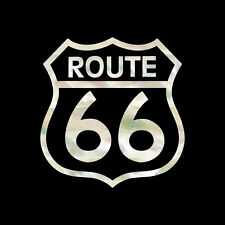 Route 66 (White Pearl) Inlay Stickers Decals Pickguard Guitar & Bass