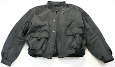 harley davidson textile police jacket xl cold weather armor liner water resist