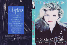 Taylor Dayne - Twists Of Fate-The Smash Hit Videos DVD Music Videos,80s,90s OOP