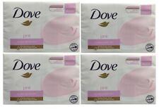 4 x Dove Pink Sift Smooth Skin Beauty Cream Bar 2x100g (8 Bars)