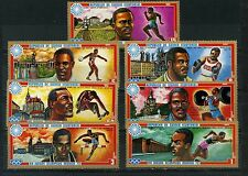 EQUATORIAL GUINEA 1972 SUMMER OLYMPIC GAMES MUNICH SET OF 7 STAMPS MNH